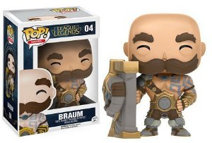 Bonecos Funko Pop Brasil - League of Legends - Braum