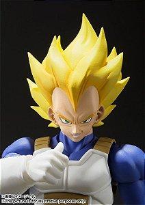 Bandai - S.H. Figuarts - Dragonball Z - Super Saiyan Vegeta (Cell Saga)
