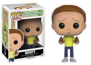 Bonecos Funko Pop Brasil - Rick and Morty - Morty