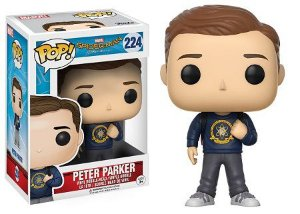 Bonecos Funko Pop Brasil - Marvel - Spider-Man Homecoming - Peter Parker