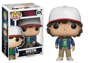 Bonecos Funko Pop Brasil - Stranger Things - Dustin