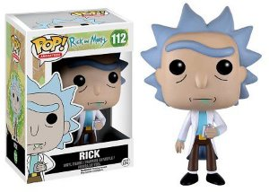 Bonecos Funko Pop Brasil - Rick and Morty - Rick
