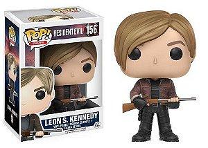 Bonecos Funko Pop Brasil - Resident Evil - Leon Kennedy