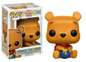 Bonecos Funko Pop Brasil - Winnie the Pooh - Seated Winnie