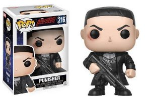 Bonecos Funko Pop Brasil - Marvel - Daredevil - Punisher