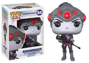 Bonecos Funko Pop Brasil - Overwatch - Widowmaker