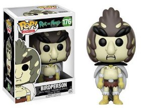 Bonecos Funko Pop Brasil - Rick and Morty - Birdperson