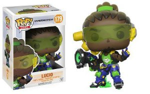 Bonecos Funko Pop Brasil - Overwatch - Lucio