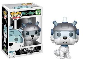 Bonecos Funko Pop Brasil - Rick and Morty - Snowball