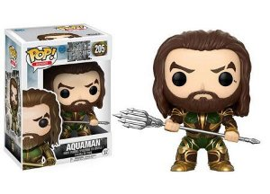 Bonecos Funko Pop Brasil - DC Comics - Justice League - Aquaman
