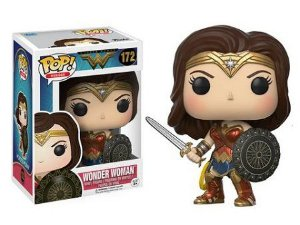 Bonecos Funko Pop Brasil - DC Comics - Wonder Woman - 172