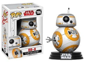 Bonecos Funko Pop Brasil - Star Wars - The Last Jedi - BB-8