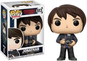 Bonecos Funko Pop Brasil - Stranger Things - Jonathan with Camera
