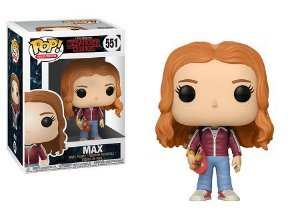 Bonecos Funko Pop Brasil - Stranger Things - Max with Skateboard