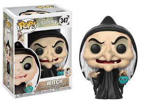 Bonecos Funko Pop Brasil - Disney - Snow White - Witch