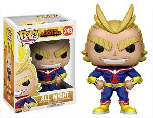 Bonecos Funko Pop Brasil - My Hero Academia - All Might