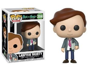 Bonecos Funko Pop Brasil - Rick and Morty - Lawyer Morty