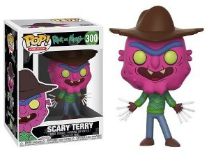 Bonecos Funko Pop Brasil - Rick and Morty - Scary Terry