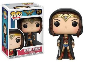 Bonecos Funko Pop Brasil - DC Comics - Wonder Woman Cloaked