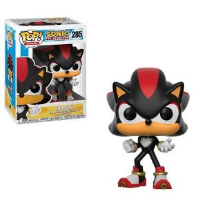Bonecos Funko Pop Brasil - Sonic - Shadow