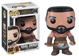 Bonecos Funko Pop Brasil - Game of Thrones - Khal Drogo