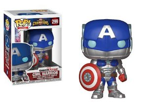 Bonecos Funko Pop Brasil - Marvel - Contest of Champions - Civil Warrior