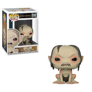 Bonecos Funko Pop Brasil - The Lord of the Rings - Gollum