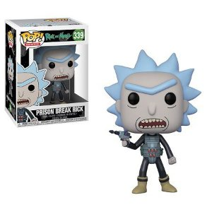 Bonecos Funko Pop Brasil - Rick and Morty - Prison Break Rick