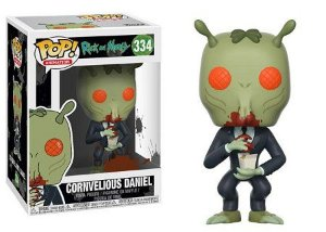 Bonecos Funko Pop Brasil - Rick and Morty - Cornvelious Daniel