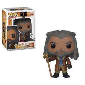 Bonecos Funko Pop Brasil - The Walking Dead - Ezekiel