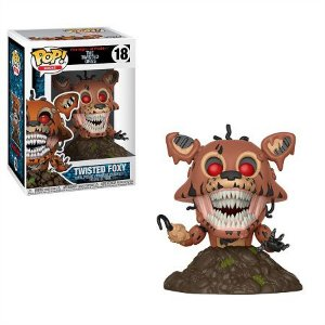 Bonecos Funko Pop Brasil - Five Nights at Freddy's - Twisted Foxy