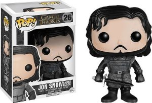 Bonecos Funko Pop Brasil - Game of Thrones - Jon Snow Black Castle