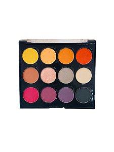 Paleta de Sombras Luv Beauty Colors - 12 cores