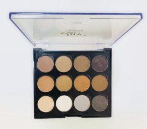 Paleta de Sombras Luv Beauty Classic Chic - 12 cores