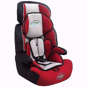Cadeira Cadeirinha de Carro para Bebê Cometa Baby Style Vermelha