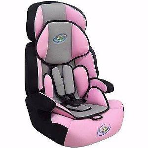 Cadeira Cadeirinha de Carro para Bebê Cometa Baby Style Rosa