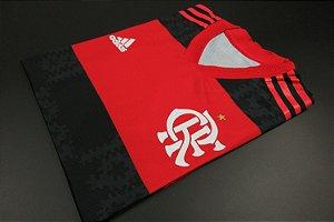 Camisa Flamengo 2021 (Uniforme 1) - Modelo Jogador (sem patrocínios)