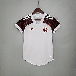 Camisa Flamengo 2021 (Away-Uniforme 2)  - Feminina
