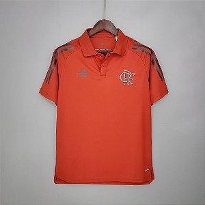 Camisa Flamengo 2021 (Polo) - Vermelha