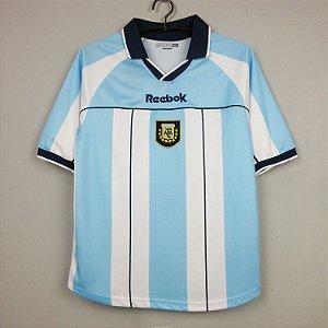 Camisa Argentina 2000  (Home-Uniforme 1)