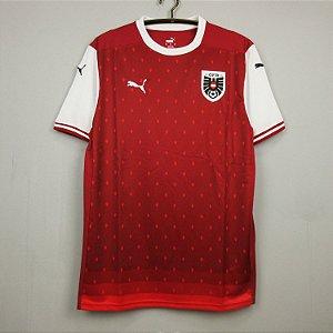 Camisa Áustria 2020-21 (Home-Uniforme 1)