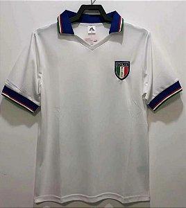 Camisa Itália  1982 (Away-Uniforme 2)  - Copa do Mundo