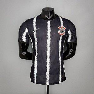 Camisa Corinthians 2021 (Uniforme 2) - Modelo Jogador (sem patrocínios)