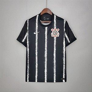 Camisa Corinthians 2021-22 (Away-Uniforme 2) -sem patrocínios