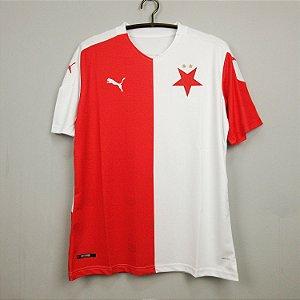 Camisa Slavia Praga 2020-21 (Home-Uniforme 1)