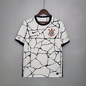 Camisa Corinthians 2021-22 (Home-Uniforme 1) -sem patrocínios