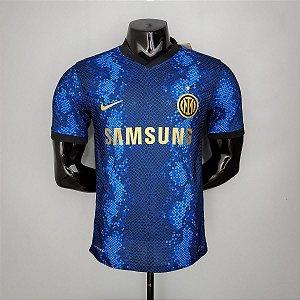 Camisa Internazionale 2021-22 (Home-Uniforme 1) - Modelo Jogador