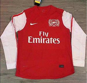 Camisa Arsenal 2011-2012 (Home-Uniforme 1) - Manga Longa