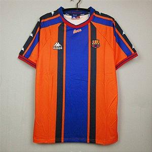 Camisa Barcelona 1997-1998 (Away-Uniforme 2)