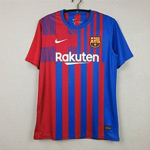 Camisa Barcelona 2021-22 (Home-Uniforme 1)